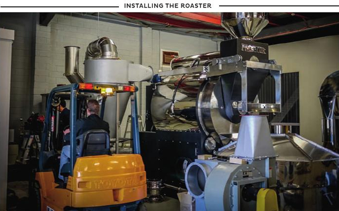 Commercial Coffee Roasting