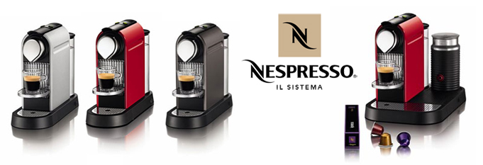 Nespresso coffee maker Citiz for sale cheap