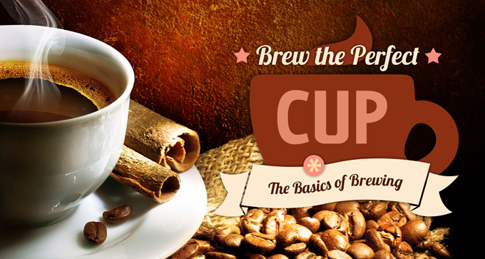 Brewing the perfect coffee & the basics of brewing