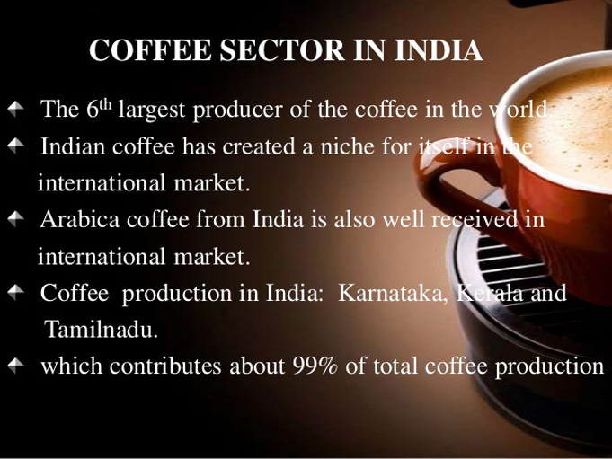coffee in india